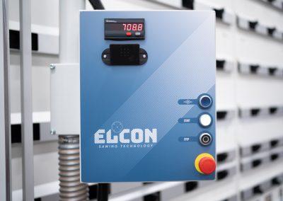 Panel de operador de detalle Elcon
