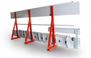 Módulos de guía de transporte pesados y auto-rígidos