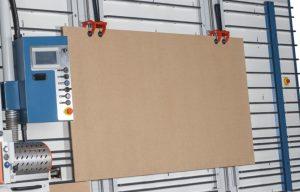 Sistema de sujeción avanzado para corte horizontal y vertical a medida en una sola pasada