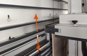 Elevación trasera neumática automática