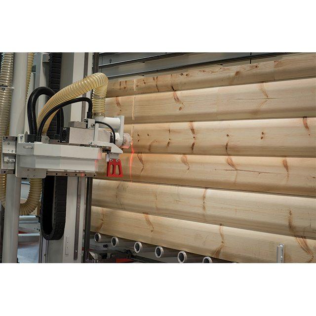 Elcon Sierra de panel vertical para productos especiales